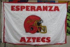 ESPERANZA AZTECS DIGITALLY PRINTED FLAGS