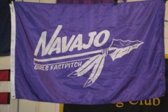 NAVAJO GIRLS FASTPITCH DIGITAL FLAG