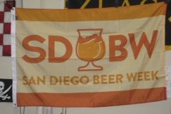 SAN DIEGO BEER WEEK DIGITALLY PRINTED FLAG