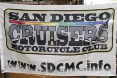 SAN DIEGO CRUISERS CLUB PERSONAL FLAG