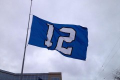 SEATTLE SEAHAWKS 12TH MAN FLAG