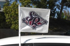 SR SOFTBALL SMALL PERSONAL LOGO FLAG