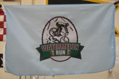 WATERMELON RUN PERSONAL LOGO FLAG