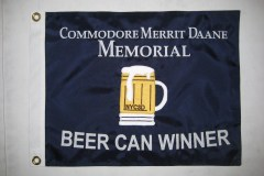 COMMODORE MERRIT DAANE PERSONAL APPLIQUE FLAG