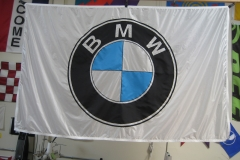 BMW CORPORATE LOGO APPLIQUE FLAG