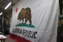 CALIFORNIA REPUBLIC APPLIQUE FLAG