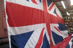ENGLAND COUNTRY FLAG LARGE APPLIQUE