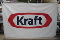 KRAFT CORPORATE LOGO APPLIQUE FLAG