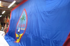 LARGE GUAM FLAG APPLIQUE FLAG
