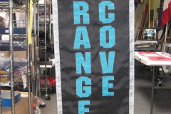 ORANGE COVE TITANS CUSTOM BANNER FRONT