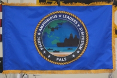 PALS CUSTOM APPLIQUE FLAG WITH FRINGE