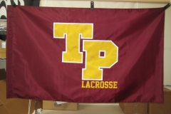 TORREY PINES LACROSSE APPLIQUE FLAG