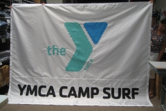 YMCA Camp Surf Logo Flag