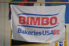 BIMBO BAKERIES CORPORATE LOGO FLAG
