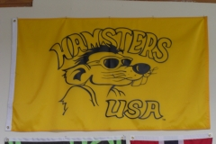 Hamsters USA Custom Logo flag