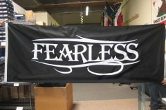 FEARLESS US CUSTOM MILITARY FLAG