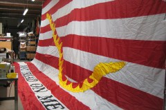 FIRST NAVY JACK CUSTOM APPLIQUE FLAG