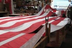 Homeward Bound flag laid out 2