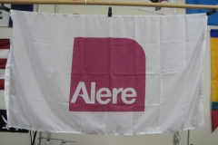 ALERE CORPORATE LOGO FLAG