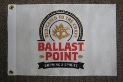 BALLAST POINT BREWERY ORIGINAL CORPORATE LOGO FLAG