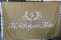 BEAUTIFUL WESTGATE HOTEL CORPORATE LOGO FLAG