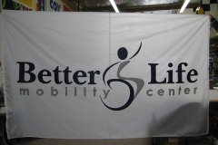 BETTER LIFE CORPORATE LOGO FLAG