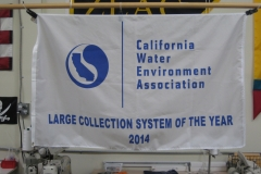 CALIFORNIA WATER ASSOCIATION CORPORATE LOGO FLAG