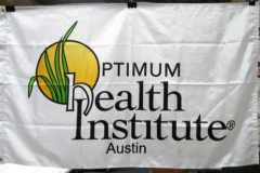 HEALTH INSTITUTE CORPORATE LOGO FLAG
