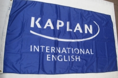 KAPLAN COLLEGE CORPORATE LOGO FLAG