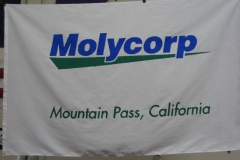 MOLYCORP CORPORATE LOGO FLAG