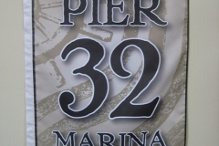 PIER 32 CORPORATE LOGO FLAG