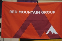 RED MOUNTAIN GROUP CORPORATE LOGO FLAG