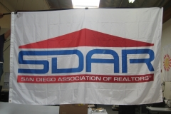 SDAR CORPORATE LOGO FLAG