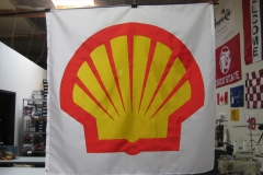 SHELL GAS STATION CORPORATE LOGO FLAG