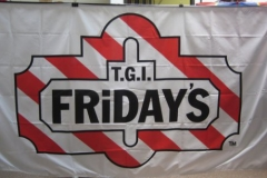 TGIFS CORPORATE LOGO FLAG