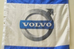 VOLVO CORPORATE LOGO FLAG