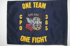 CPO 365 ONE TEAM ONE FIGHT CUSTOM GUIDON