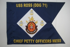 Custom USS ROSS Guidon