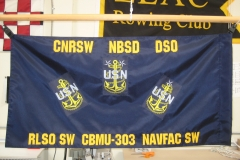 Large Custom USN Guidon