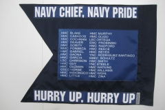 NAVY CHIEF, NAVY PRIDE GUIDON BACK