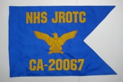 NHS JROTC NAVY GUIDON FLAG