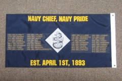 Navy Chief Navy Pride Guidon
