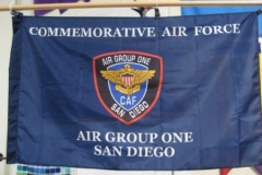 Photo Digitally printed Guidon Airforce
