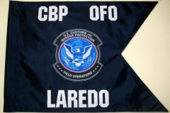 Photo Guidon appliqued Laredo