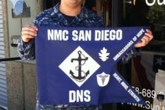 Photo Paul Contreras digitally printed Guidon front