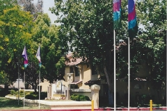 Four Pannel Attraction Property Flags