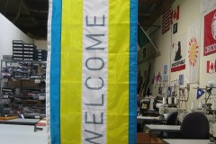 PFS 201 Welcome Property Flag