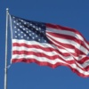 US Flag Flying 2