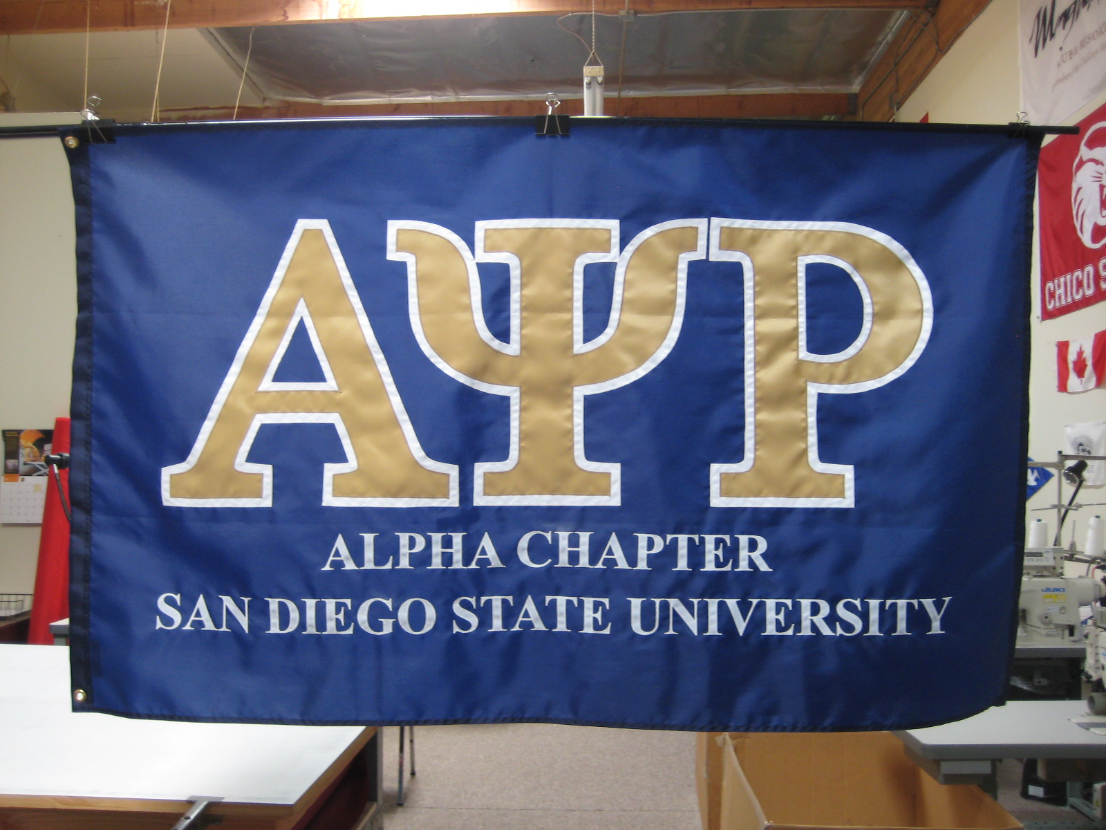 Alpha Chapter Blue