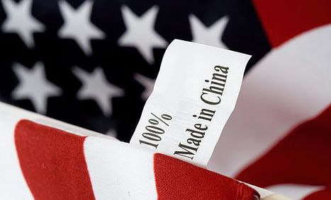 Made in China American Flag